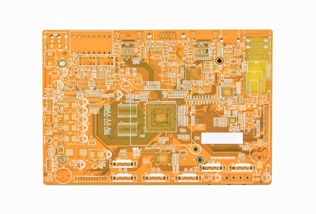 Mother board of security surveillance system