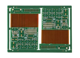 Rigid-flex PCB for automotive inverter