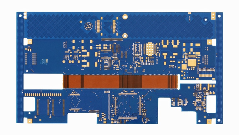 Rigid-flex PCB for medical instrument