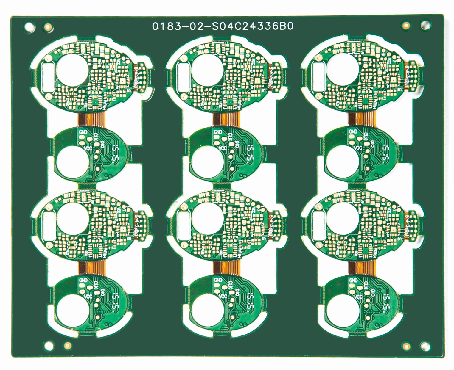 Rigid-flex PCB for smart bracelet