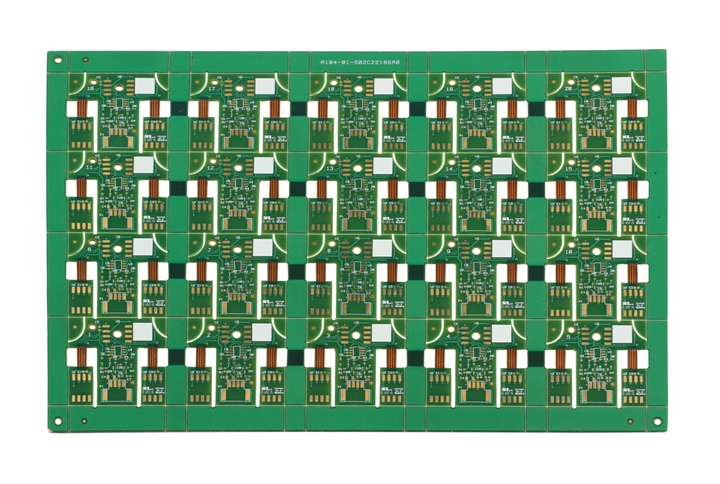 Rigid-flex PCB for temperature controller