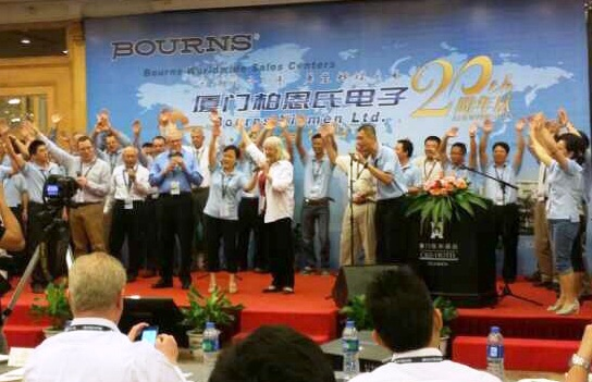 "S&L is awarded as ""Core Supplier"" by Bourns"