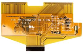 Flexible PCB for LED display