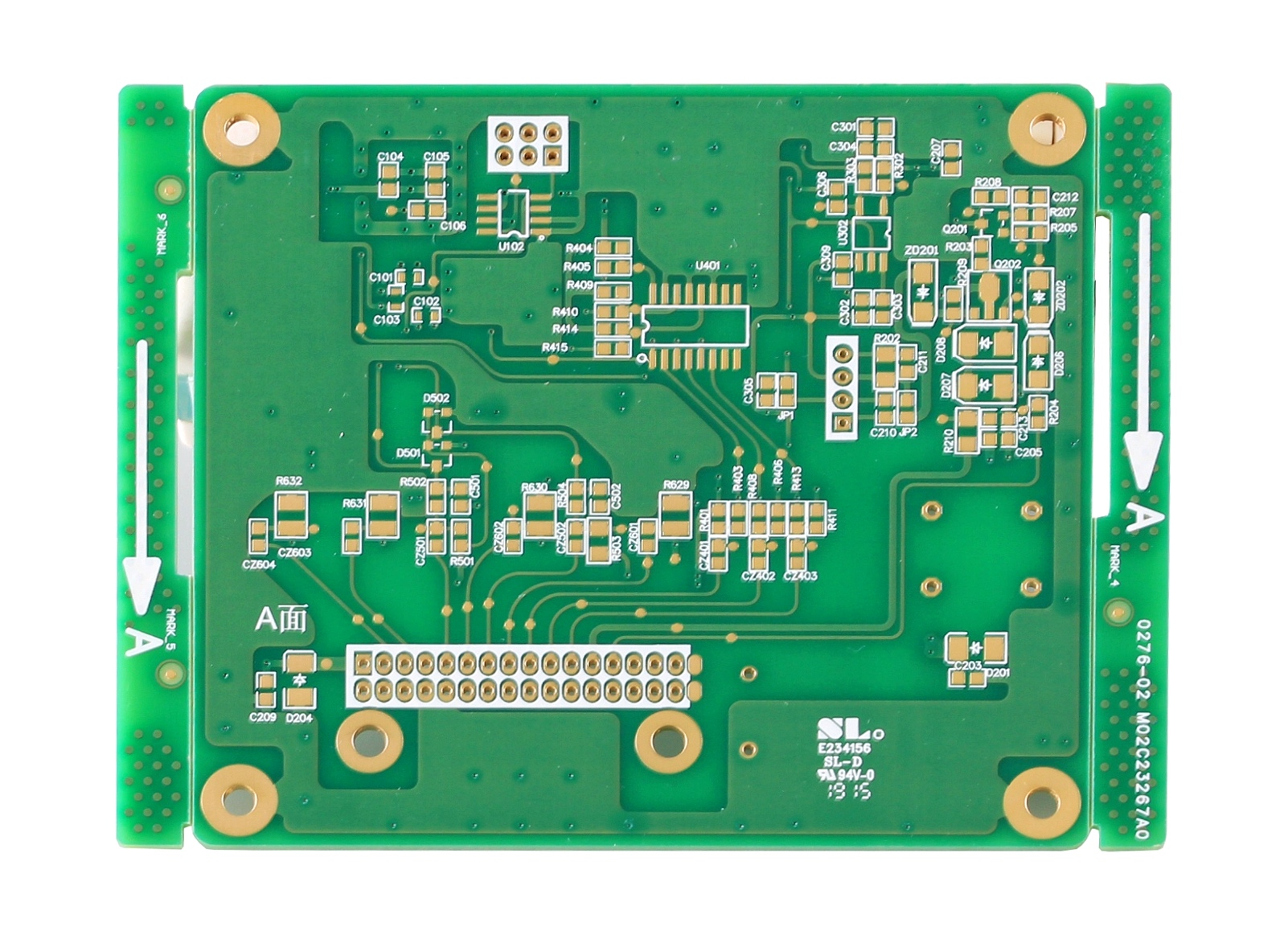 Automotive driving control system PCB