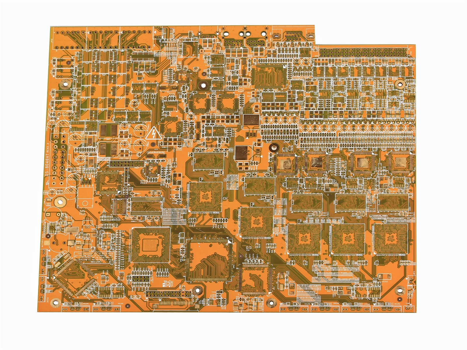 Mother board of industrial computer