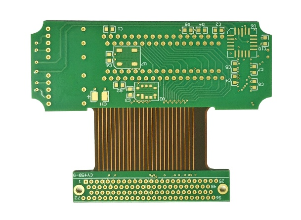 Rigid-flex PCB for telecom antenna
